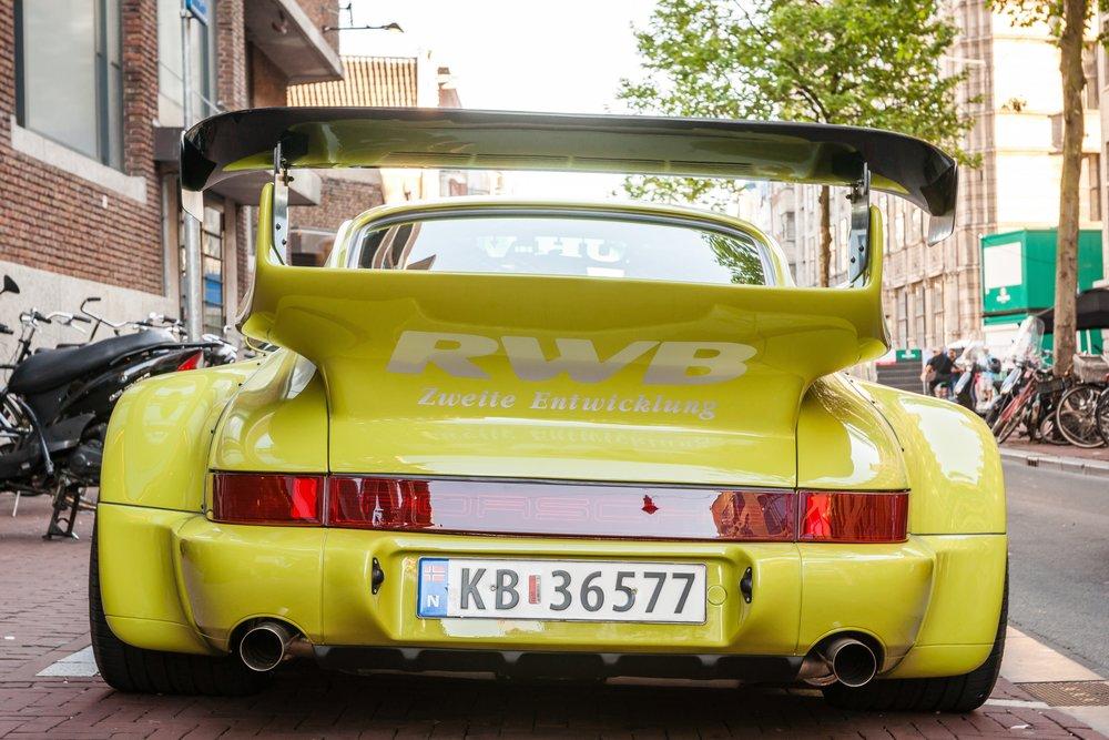 RWB Porsche 964 back