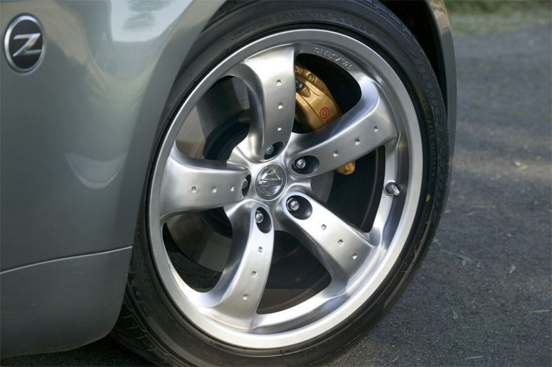 Nissan 350Z 18' Rays forged rims