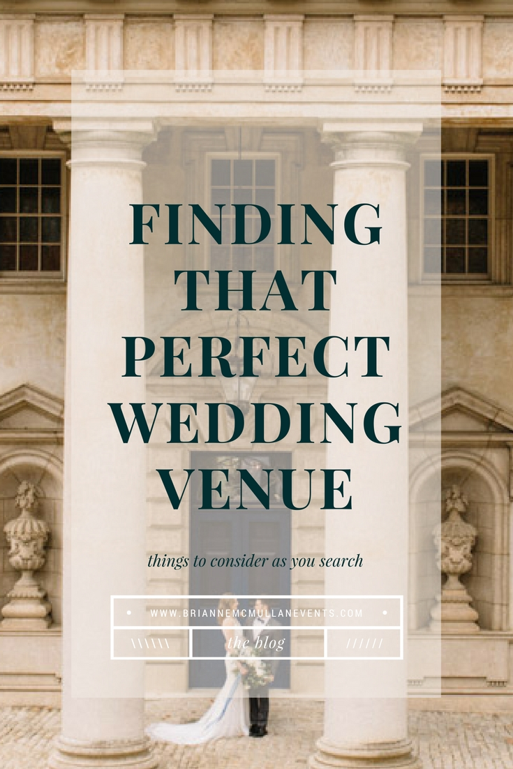Wedding Venue Search Brianne McMullan Events
