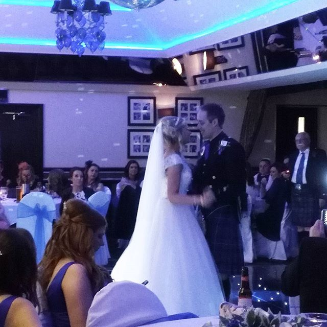 Congratulations Pamela and George! #firstdance #newlyweds