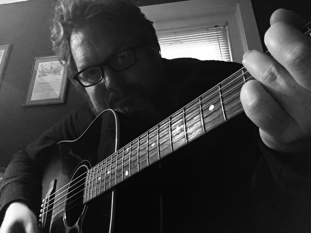 Brett Kull   - Killer riffs and arrangements . Vocal harmonies . Lead and rhythm guitars . Piano , organ , tamborine , glockenspiel. Extra coolness.  Facebook