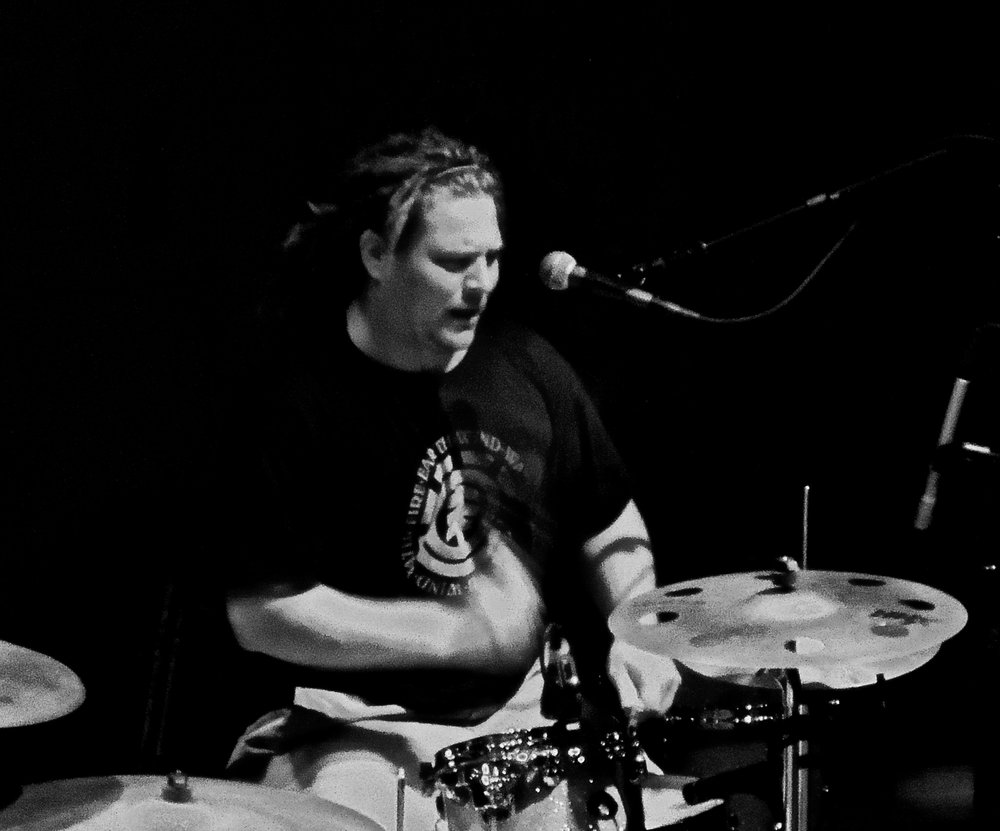 Steve Polotowski   - Drums . Bringer of thunder and lightning. Man of percussive brilliance.