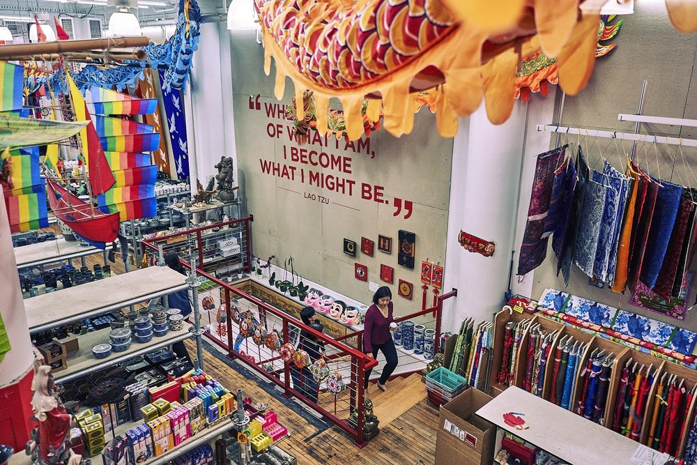 """The saying by ancient Chinese philosopher Lao Tzu -- """"When I let go of what I am, I become what I might be"""" – typifies the evolution of the store. Over five decades and eight physical locations, much has changed but not the original mission of celebrating culture and extending friendship."""