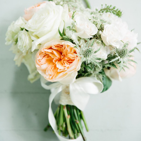 Ben And Margaret Gross wedding bouquet.