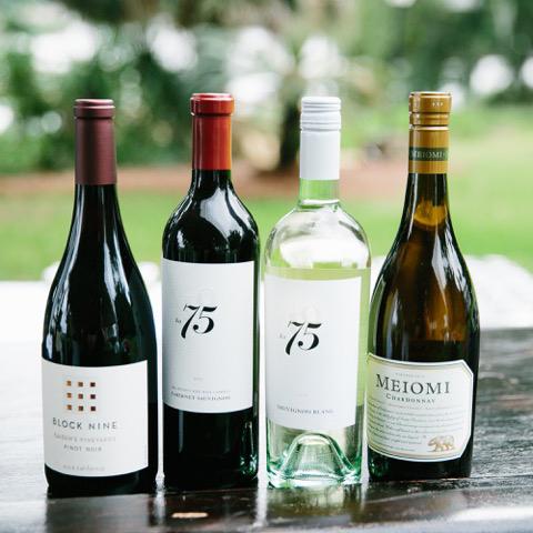 Ben And Margaret Gross wine selection.