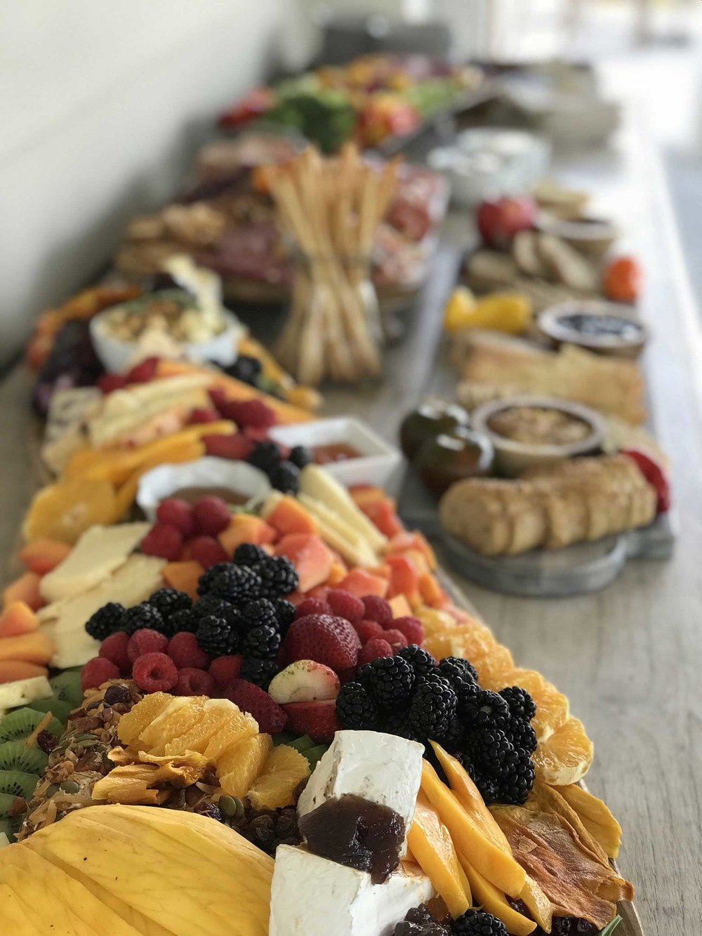 Charcuterie at Larry's 50th Birthday Party, Palmetto Bluff, SC.