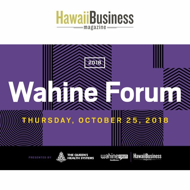 CEI Hawaii is a Gold Sponsor for the Hawaii Business Magazine Wahine Forum 2018! This event will bring Hawaii's top leaders, entrepreneurs, and up-and-coming generation to discuss important topics of Hawaii's workplace. We will be showcasing our furniture and we would love to meet you! Come and visit our booth for giveaways and awesome prizes. One lucky attendee will be winning a Knoll Generation Chair! ✨ Follow us for more updates and for an upcoming social media contest. We hope to see you there!  For more information on the Women's forum, follow @HawaiiBusiness