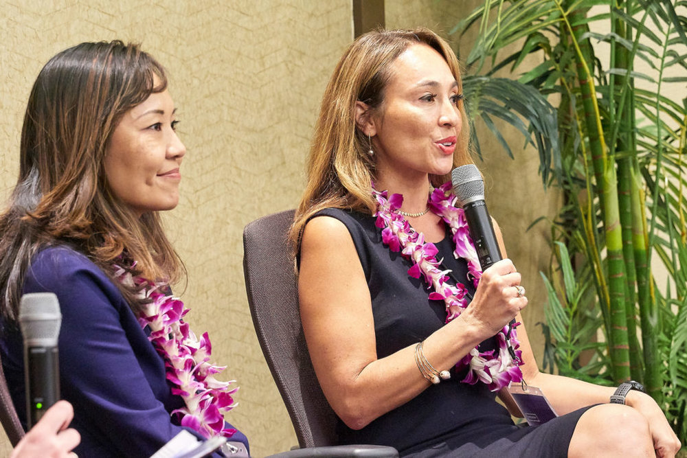 Photo taken from Hawaii Business Magazine's article '5 Takeaways from the 2018 Wahine Forum,' courtesy of David Croxfordurtesy of David Croxford