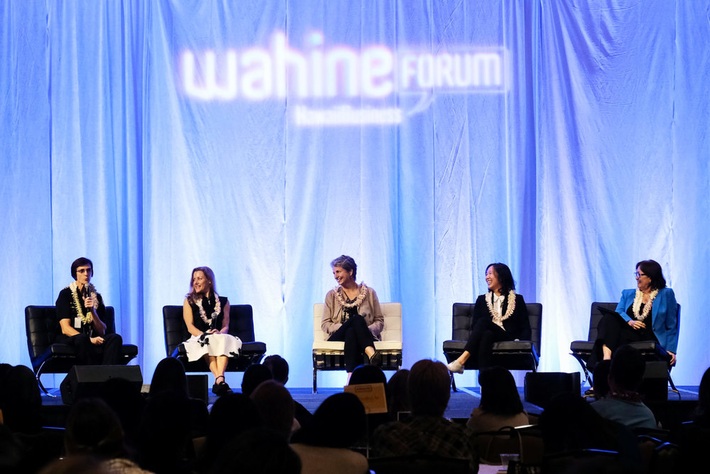Photo taken from Hawaii Business Magazine's article '5 Takeaways from the 2018 Wahine Forum,' courtesy of David Croxford