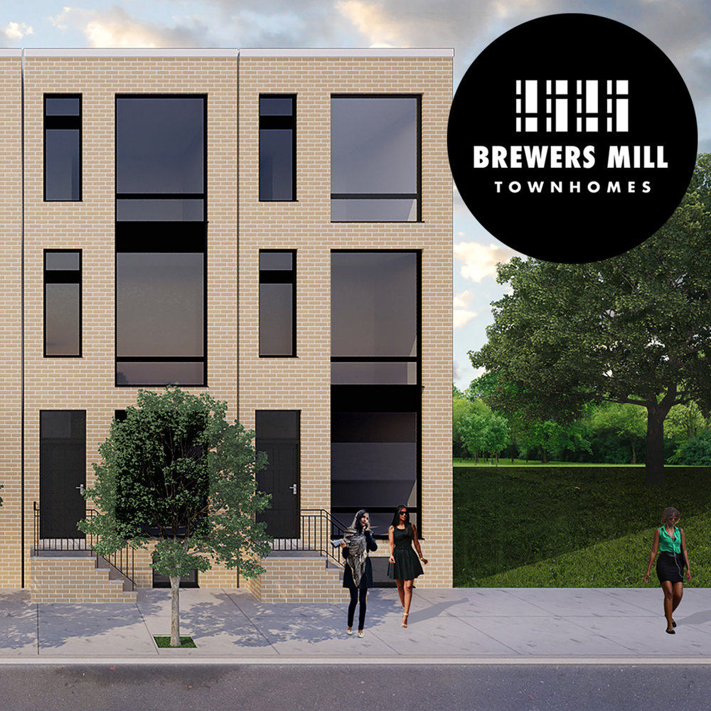 First Brewers Mill townhome in Brewerytown lists for $425K
