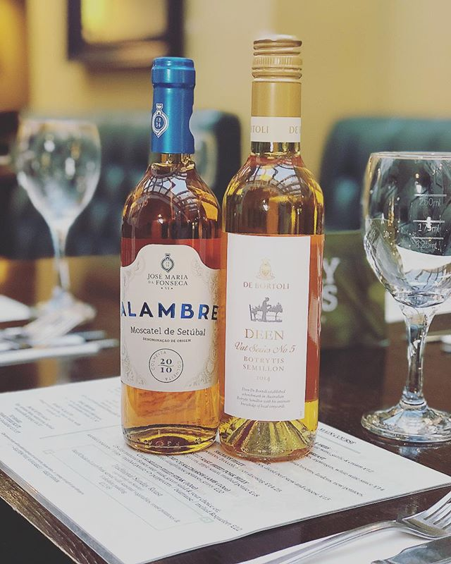 Check out our new dessert wine available by glass and bottle! • • • • • • #dems #dessertwine🍷 #winewednesday #wine #demscanterbury