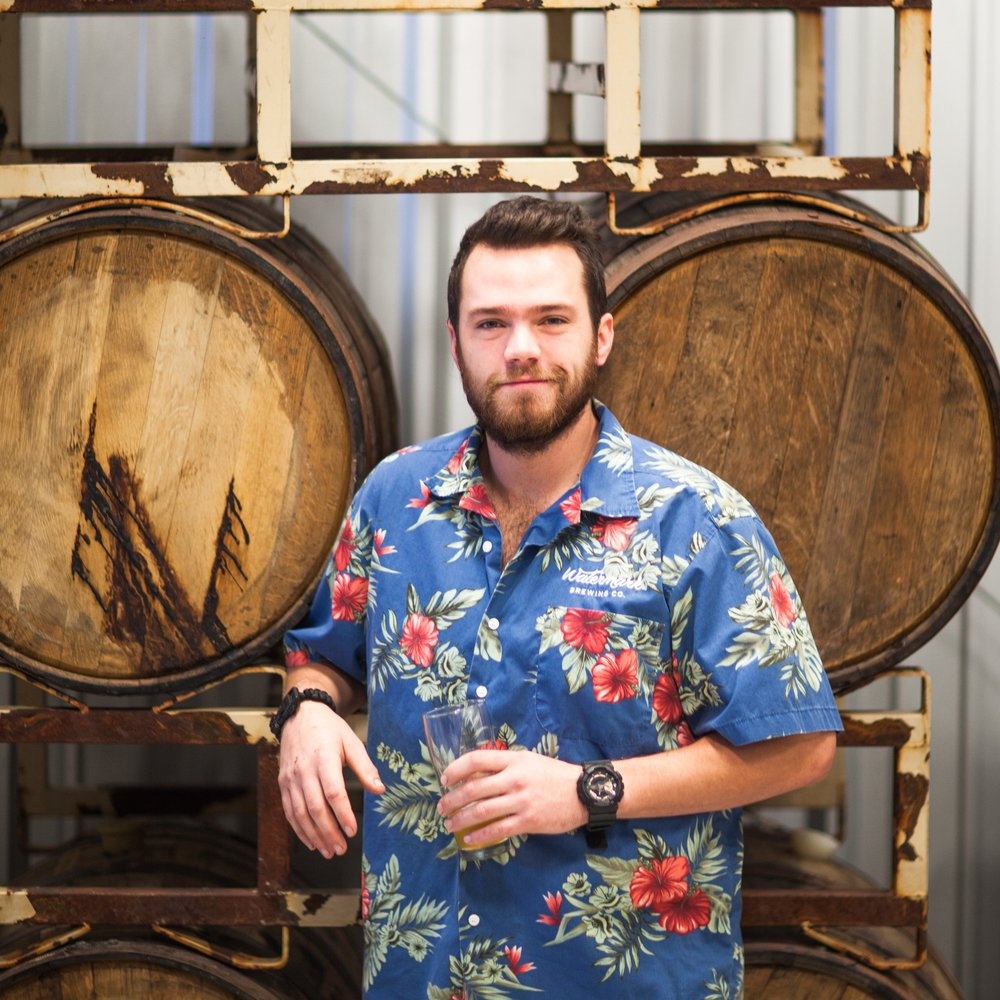 Justin    Co Founder / Libations Engineer   After graduating from Michigan State University in 2012 with a degree in Hospitality, Justin moved to Chicago and worked for Marriott International. Shortly after, Justin moved to Michigan to build/start a hop farm.  Justin leads all front of house operations.