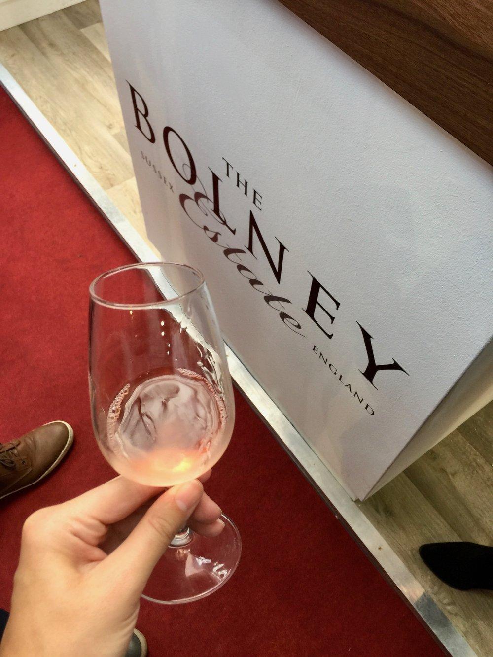 Bottle Bitches taste Bolney Estate English Wine at London Wine Fair 2017.jpg