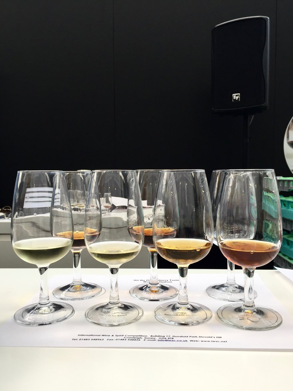 Bottle Bitches - Hit The Flor Sherry Tasting with Matthew Hudson at London Wine Fair 2017.jpg