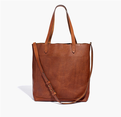 Madewell Camel Tote
