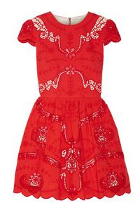 Alice & Olivia Red Dress