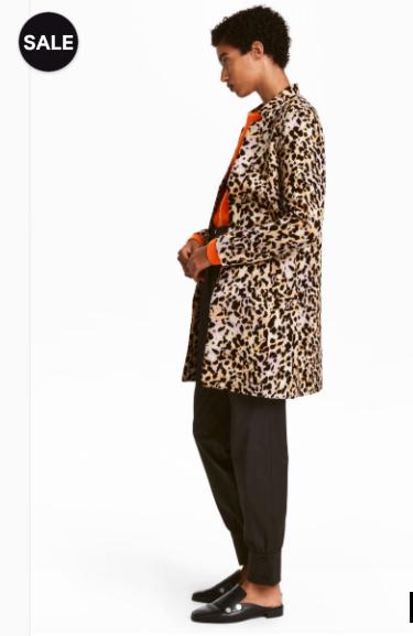 Cheeta Print Coat