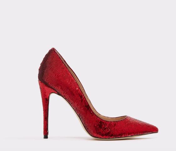 Red Sparkly Heel