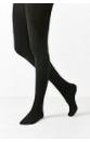Fleece Lined Black Tights