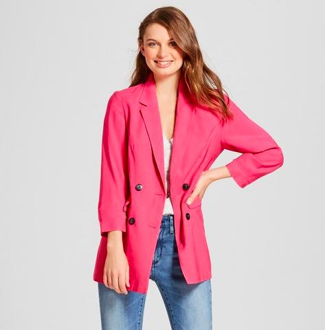 Target pink blazer