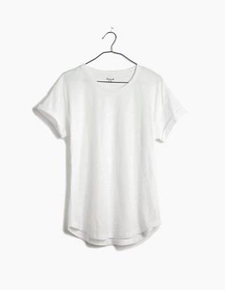 madewell white tee shirt