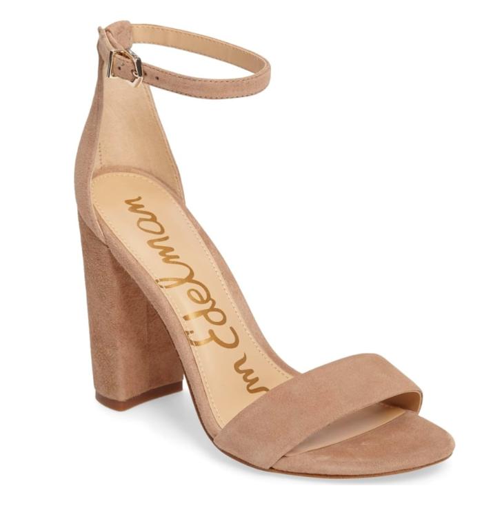 oatmeal Ankle heels