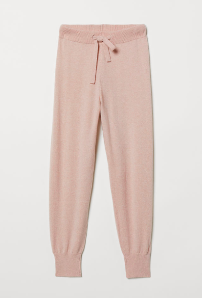Cashmere Pink Joggers