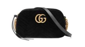 Gucci Velvet Black Crossbody