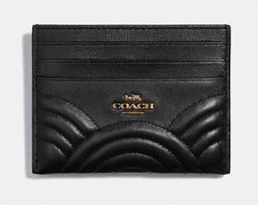 Black Leather Card Case
