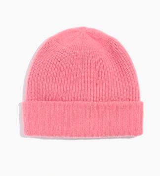 Pink madewell beanie