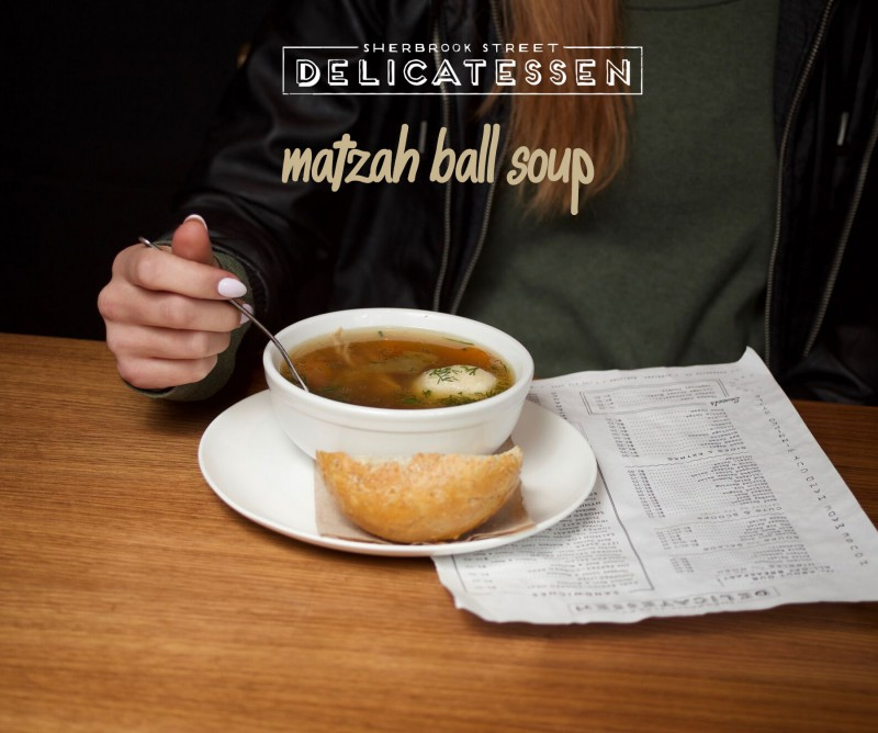 Matzah Ball Soup