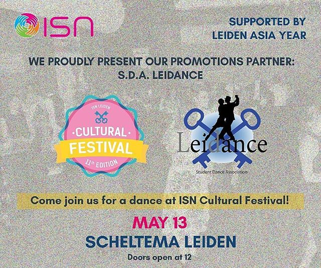 We are proud t have S.D.A Leidance as our promotional partners. They will also have two workshops and performances during the #Cultural #Festival.  It's time to danceeee 💃