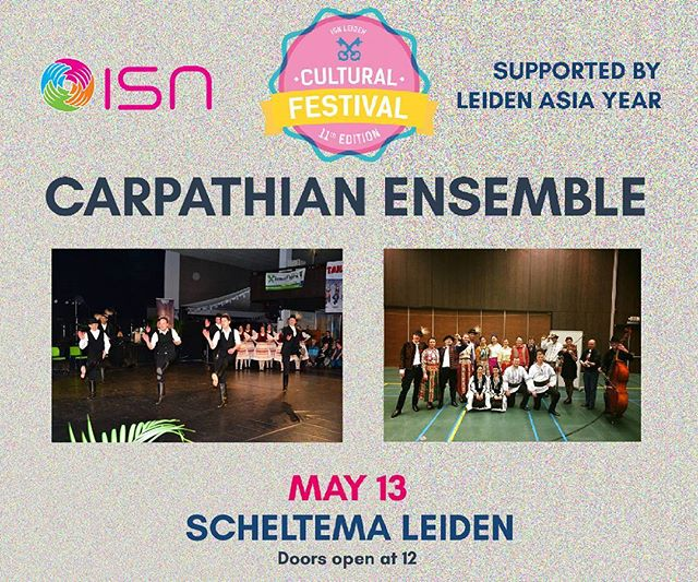 The Carpathian Ensemble is a new group with very enthusiastic dancers who want to highlight the rich culture of the countries in the Carpatian mountains with an emphasis on the original traditions. We present authentic styles, beautiful costumes and an enormous pleasure in showing these dances to you!  You can purchase your ticket on the following link --  https://goo.gl/eeWP5p or at the Common room.