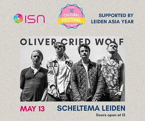 For the evening part of the Cultural festival, we proudly present you Oliver Cried Wolf. Put a folksinger, metal band, jazz bassist with a hip-hop reflection and a hard rock drummer and the result is Oliver Cried Wolf. They play music that you do not listen but feel!  Come and see Oliver's performance at the ISN Cultural Festival!  You can purchase your ticket on the following link -- https://goo.gl/eeWP5p or at the Common room during office hours.