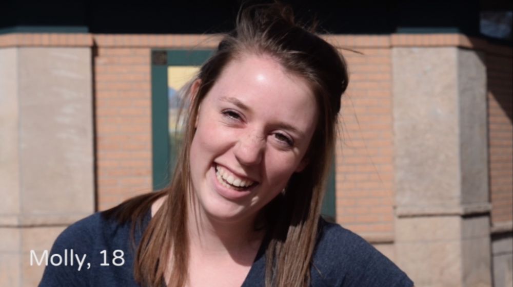 "University of Colorado student says ""confidence"" is what she finds most attractive in men."