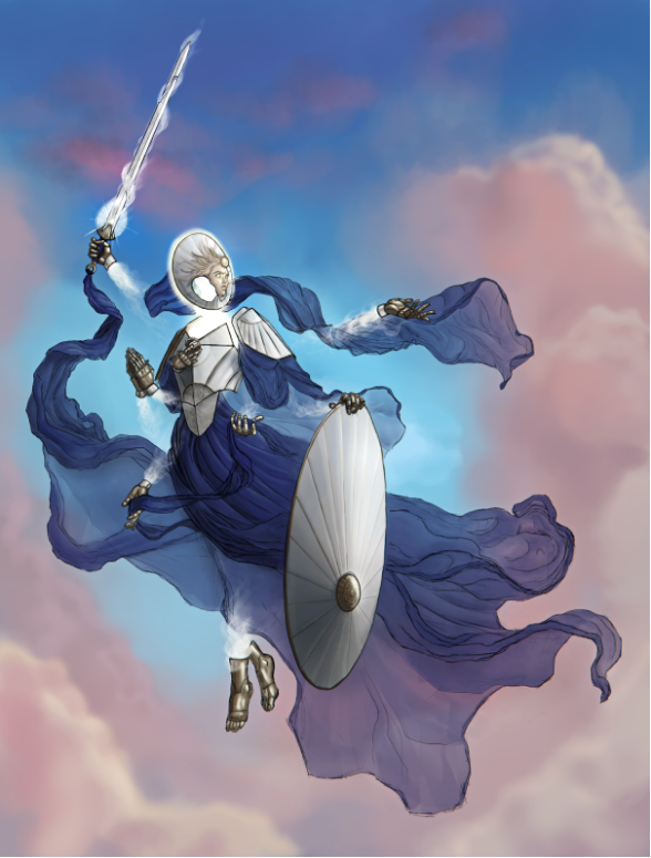 Arash of Delieverance - Playable Angelic Commander who guides her people