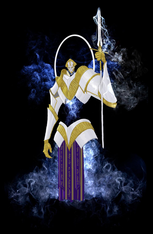 Throne of Shamesh - Supreme unit,Ascendant Angel of wrath and Judgement