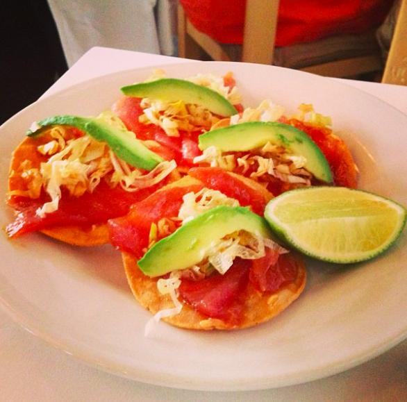 Tuna Tartar - um dos pratos saborosos do restaurante ContraMar