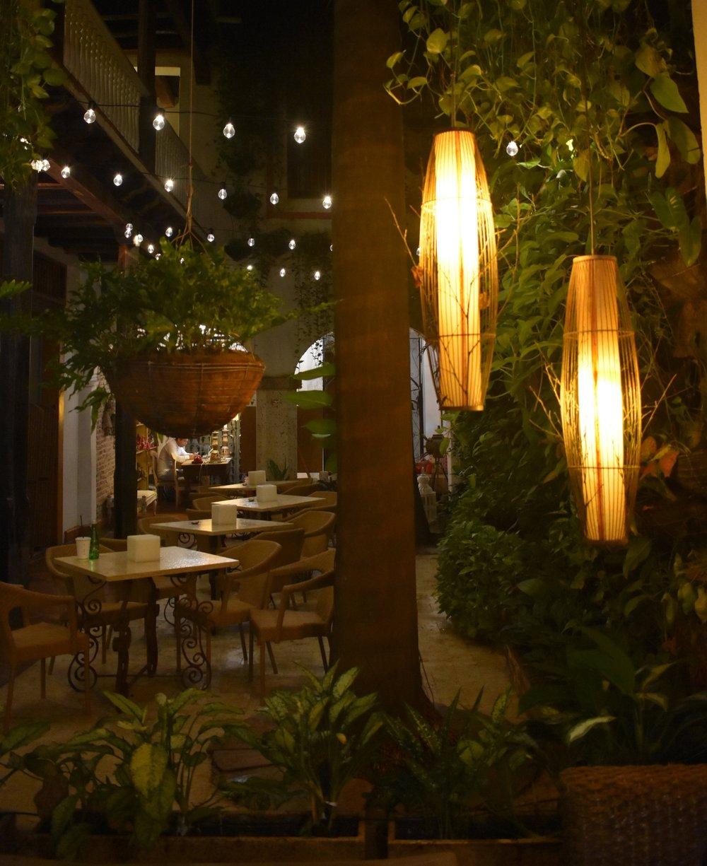 Hotel Bantú: bem localizado e com uma decoração linda aconchegante