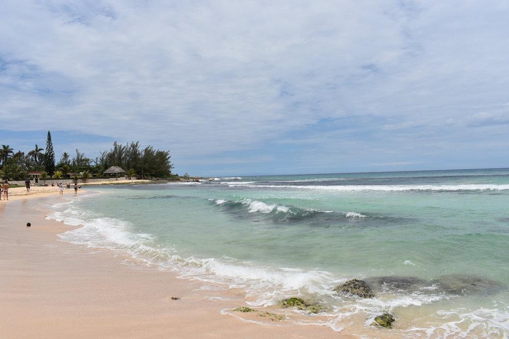Praia Bamboo Beach na Jamaica