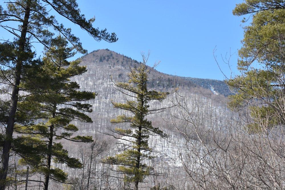As montanhas brancas são um cenário lindo!