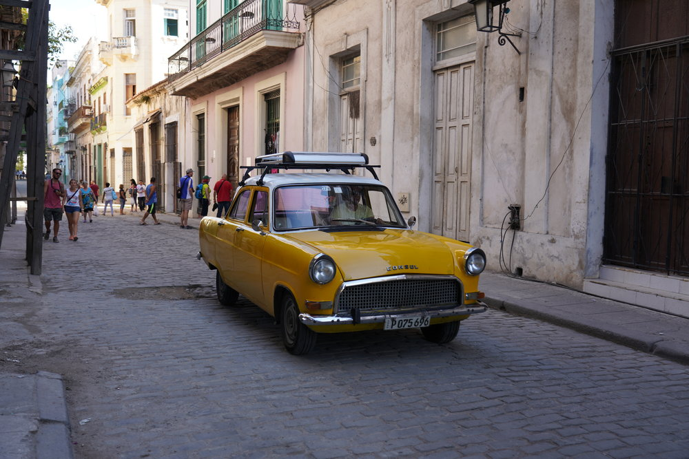 Carros em Havana, Cuba