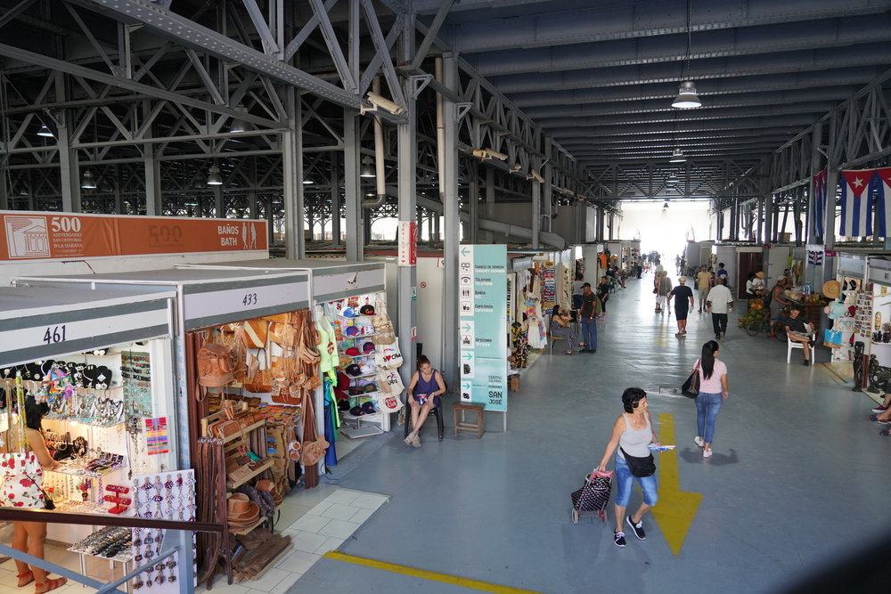 mercado de artes havana cuba