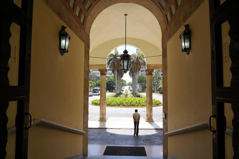 Entrada do Hotel Nacional Cuba Havana