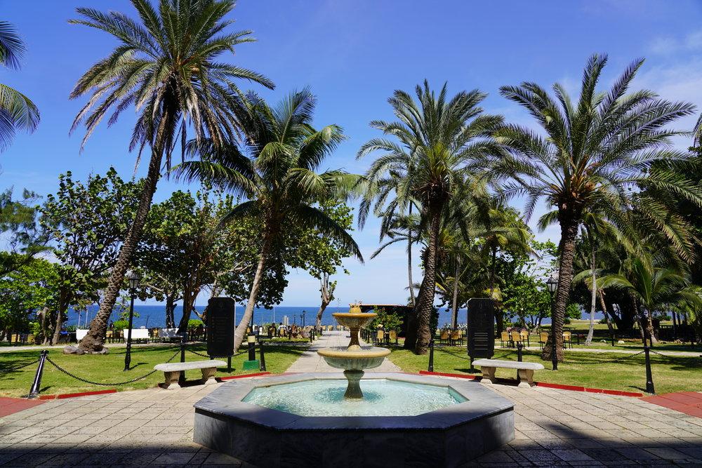 Jardim Entrada do Hotel Nacional Cuba Havana