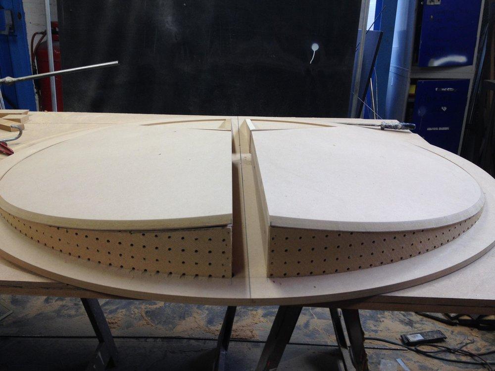 progress of the build