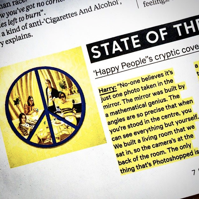 Harry of Peace quoted in NME