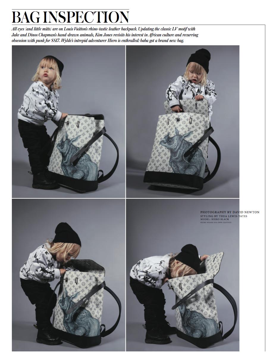 Hiero Black in Wylde Magazine