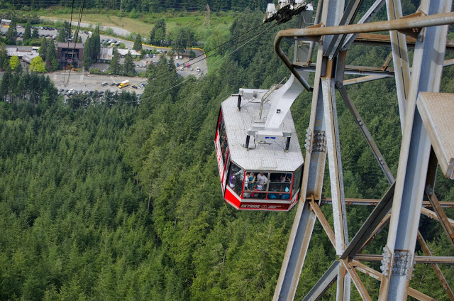 Gondola on Grouse Mountain