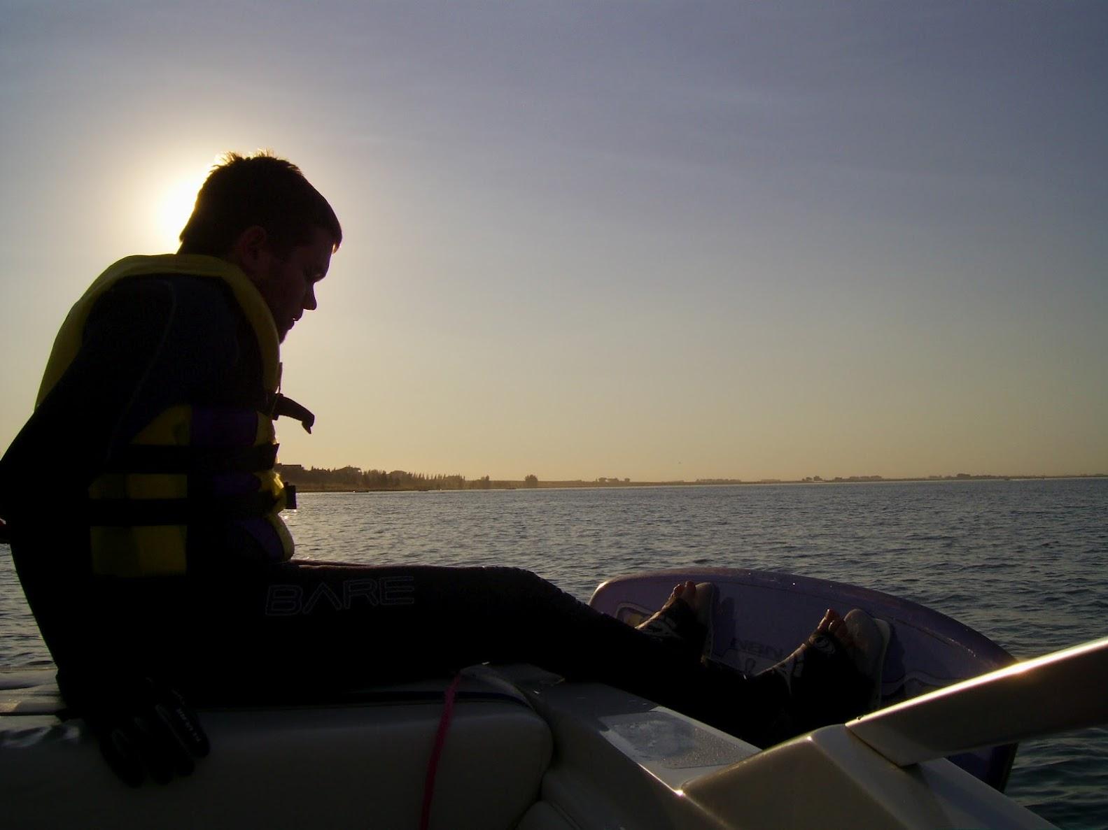 Kevin Wake Boarding at Stafford Lake